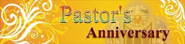 Pastor's Anniversary Banner