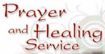 Prayer and Healing Service1